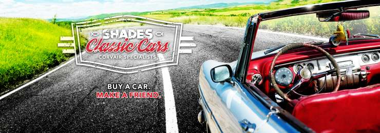 Shade's Classic Cars. Buy A Car. Make A Friend.